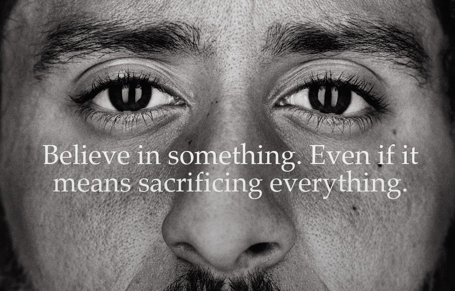 Colin Kaepernick is the face of Nike's new campaign and why Nike had to 'Just do it'​.